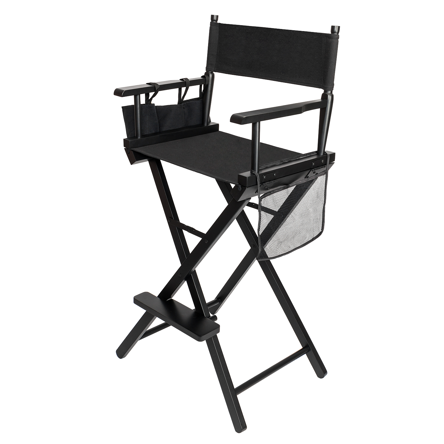 Folding Professional Makeup Artist Directors Chair Wood Light Weight And Black  sc 1 st  eBay & Folding Professional Makeup Artist Directors Chair Wood Light Weight ...